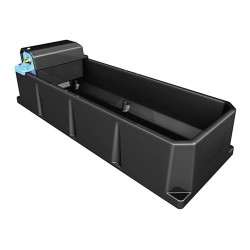 Rectangular Drinking Trough - 75 litre - with Ballcock (Centre/End Fill)