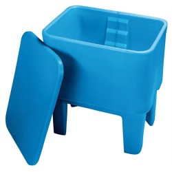 Double Walled Wash Trough with Lid - 120 litre