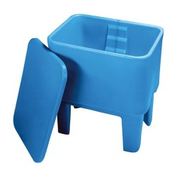 Double Walled Wash Trough with Lid - 227 litre