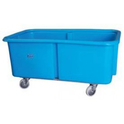 800L Stepped Base Trolley with 25mm Galvanised Box Section Chassis