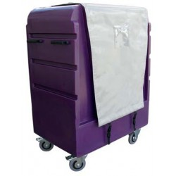 5ft Distribution Trolley (Curtain Top and Front)