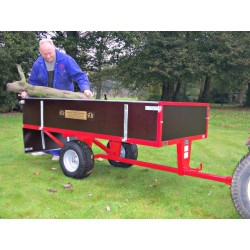 2 Wheel Timber Tipping Trailer -SCH GWTS15