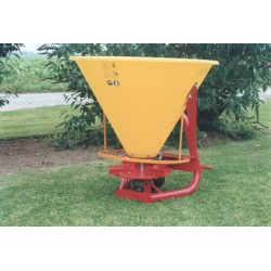 Plastic Hopper Fertilizer Spreader - 400L - 24hp