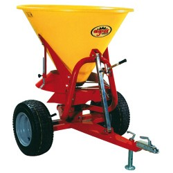 Fertilizer Spreader - 300L -18hp - Trailed Disc Attachment with Plastic Hopper