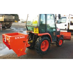 Drop Salt Spreader - 16hp Tractor Mounted - 210L Heavy Duty PTO Driven