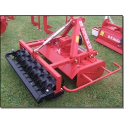Rotary Power Harrow with Crumbler or Packer Roller - 1.70m - 35hp
