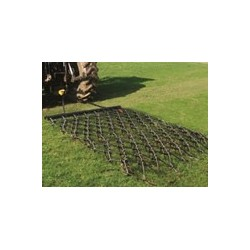 10ft Heavy Grass Folding Trailed Harrow