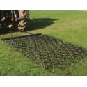 10ft Heavy Grass Folding Trailed Harrow- Double Length