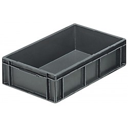 Euro Stacking Plastic Containers (600 x 400 x 150mm)