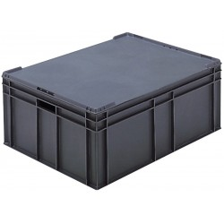 Euro Stacking Plastic Containers (800 x 600 x 319mm)