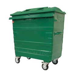 Galvanised Recycling Bin (660 litre)