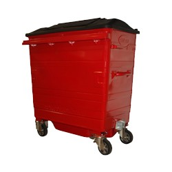Galvanised Recycling Bin (700 litre)