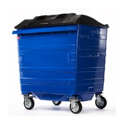 Galvanised Recycling Bin (1100 litre)