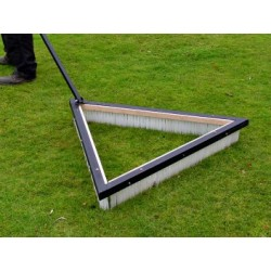 "Trailed Triangular Sports Brush - 36"" - 60"""