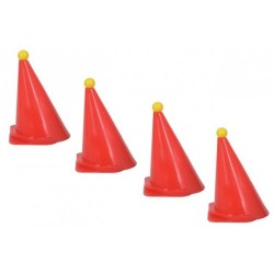Set of 4 Training Cones (Carriage Riding)
