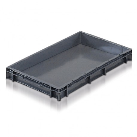 Euro Stacking Plastic Containers (600 x 400 x 73mm)