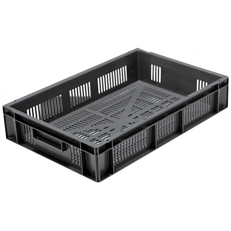 Euro Stacking Perforated Containers (600 x 400 x 120mm)