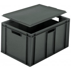 Euro Stacking Plastic Containers (600 x 400 x 319mm)