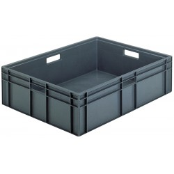 Euro Stacking Plastic Containers (800 x 600 x 235mm)