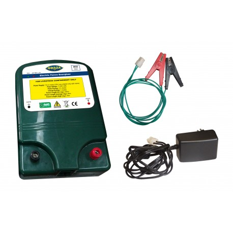Mains and Battery Fencer 12v/230v - 3.3J