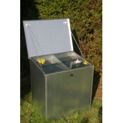 Weather Proof Triple Compartment Feed Bin