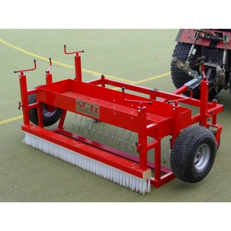 De-Compaction Rake - SCH DCR