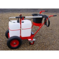 Compact Trolley Mounted Powered Waterer