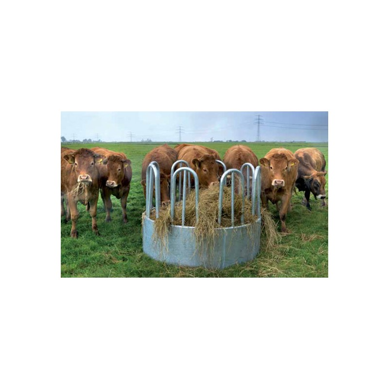 Round Hay Rack Standard For Cattle Horse Jumps For Sale