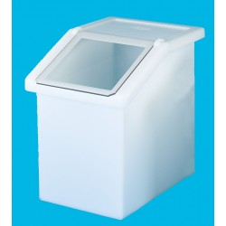 90L Static Dispense Container with Clear Flap