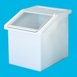 150L Static Dispense Container with Clear Flap