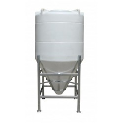 1600 Litre 60 Degree Cone Tank No Frame