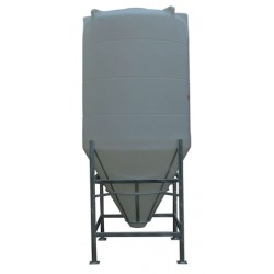 3650 Litre 60 Degree Cone Tank No Frame