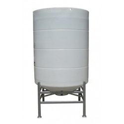 2700 Litre 30 Degree Open Top Cone Tank No Frame