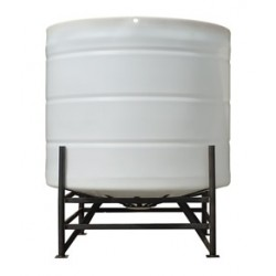 4200 Litre 15 Degree Open Top Cone Tank No Frame