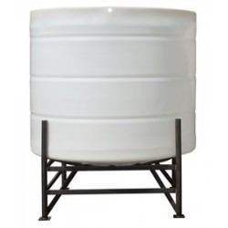6200 Litre 15 Degree Open Top Cone Tank No Frame