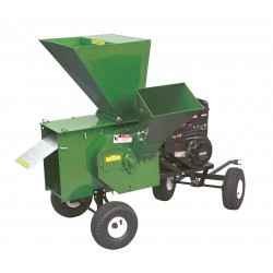 Petrol Hammermill Chipper Shredder with 8.25 B&S OHV