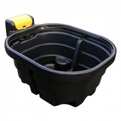 130 Gallon Oval Fast Fill Water Trough