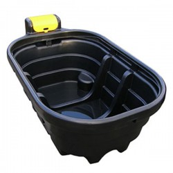 175 Gallon Oval Fast Fill Water Trough