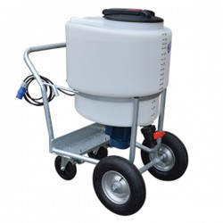170 Litres Milk Kart with Mixer