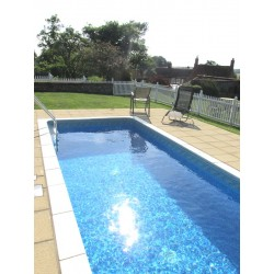 Pack of 12 Pool Fence - 8ft Wide and 4ft High
