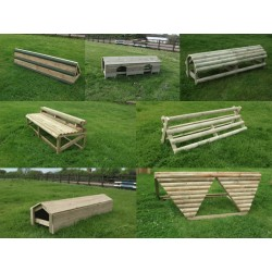 Set of 7 Cross Country Fences.