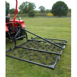 6ft Folding Mounted 3 Way Harrow (13mm)