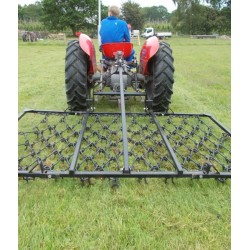 8ft Folding Mounted 3 Way Harrow (13mm)