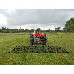 12ft Folding Mounted 3 Way Harrow (13mm)