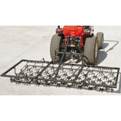 8ft Heavy Grass Mounted Harrow- Double Length