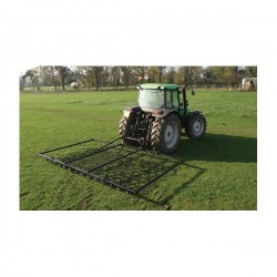 12ft Chain & Spike Mounted Harrow with Folding Wings