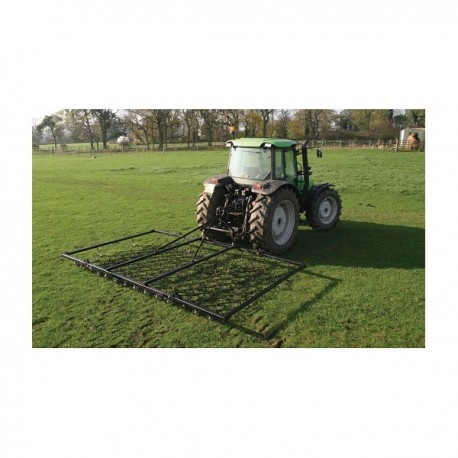 12ft Folding Mounted Harrow