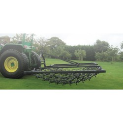 6ft Heavy Grass Mounted Harrow- Double Length