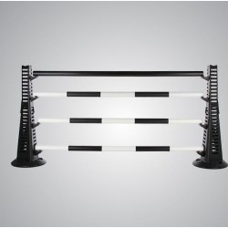 Pair Jump Maxi's, Pair of Extensions, 3 x 5 Band Poles, 1 x Heavyweight Pole, 4 x Pairs Cups
