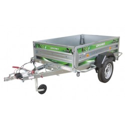 Daxara 198.4F Braked Trailer